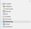 Auslastung - So findet man die Auslastung in InLoox Ordnerpanel
