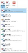 Output file types