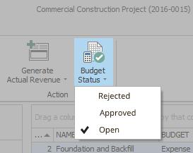 Budgets - Budget Status