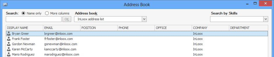 Resources - Add New Resource Address Book