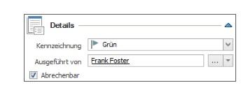 Zeiterfassung - Anlegen und Bearbeiten eines Zeiterfassungseintrags - Details