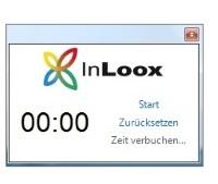 Erfassen von Zeiterfassungseinträgen mit der InLoox Stoppuhr