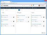 InLoox PM 9 Web App: Kanban