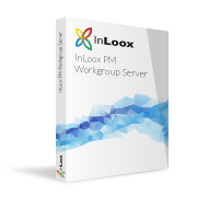 Packshot InLoox PM Workgroup Server