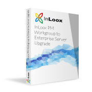 Packshot InLoox PM Workgroup to Enterprise Server Upgrade