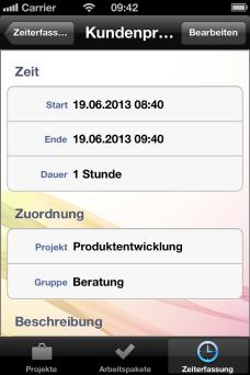 Zeiterfassung - InLoox
