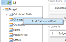 Add Calculated Field