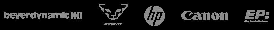 Führende Unternehmen vertrauen InLoox: beyerdynamic, Dynafit, HP, Canon, ElectronicPartner uvm.