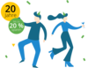 InLoox Jubiläumsaktion: 20 Jahre InLoox - sparen Sie bis zu 20% auf InLoox now! und InLoox PM User Lizenzen!