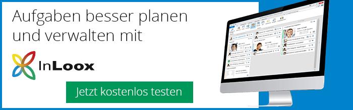 Aufgaben besser planen und verwalten mit InLoox für Outlook, Web und Smartphone