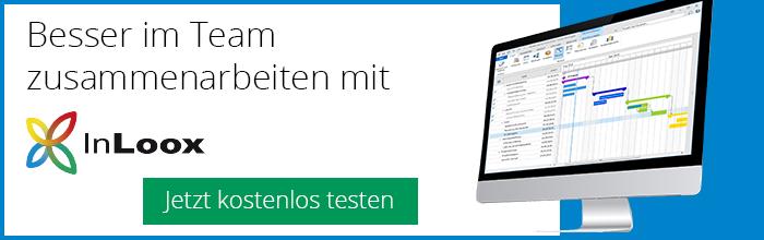 Besser im Team zusammenarbeiten mit InLoox für Outlook, Web und Smartphone
