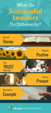[Infographic] Leadership Lessons: 5 Things Successful Leaders Do Differently