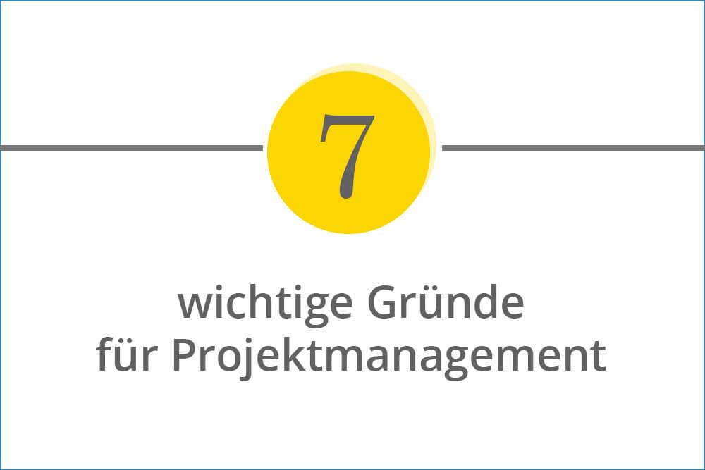 7 Argumente für die Implementierung eines professionellen Projektmanagements in Unternehmen