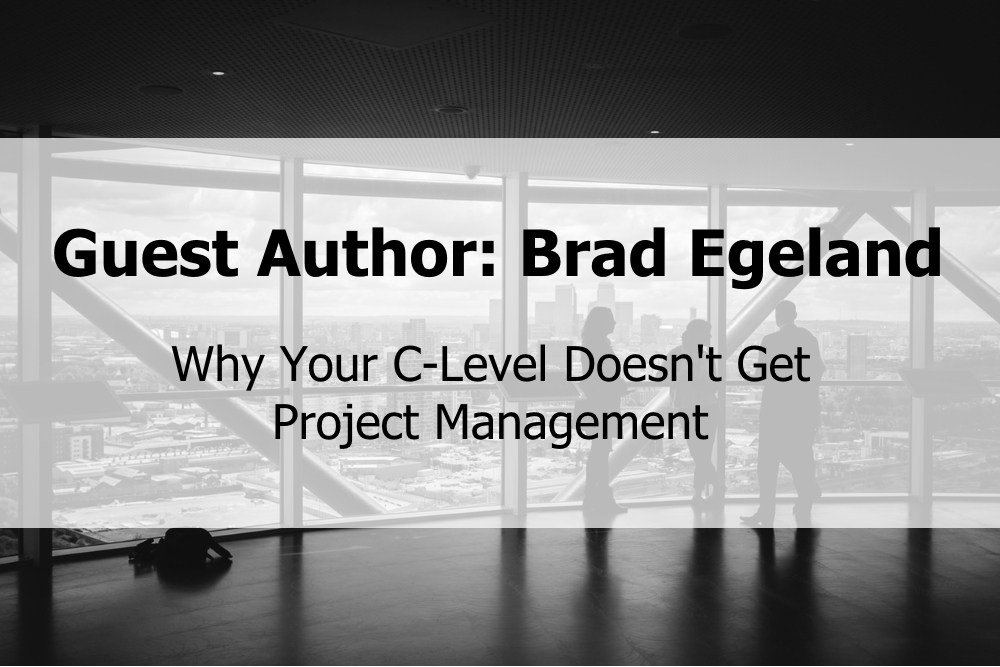 Why Your C-Level Doesn't Get Project Management
