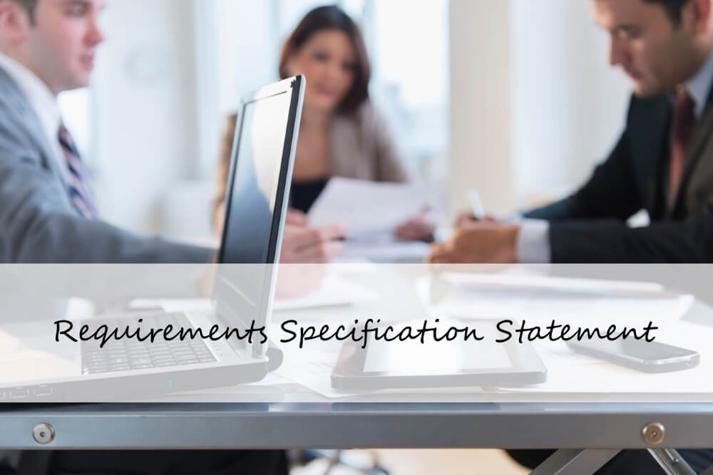 Checklist Requirements Specification Statement in Project Managemnet