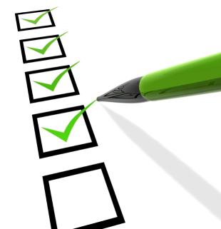Checkliste Projektabschluss