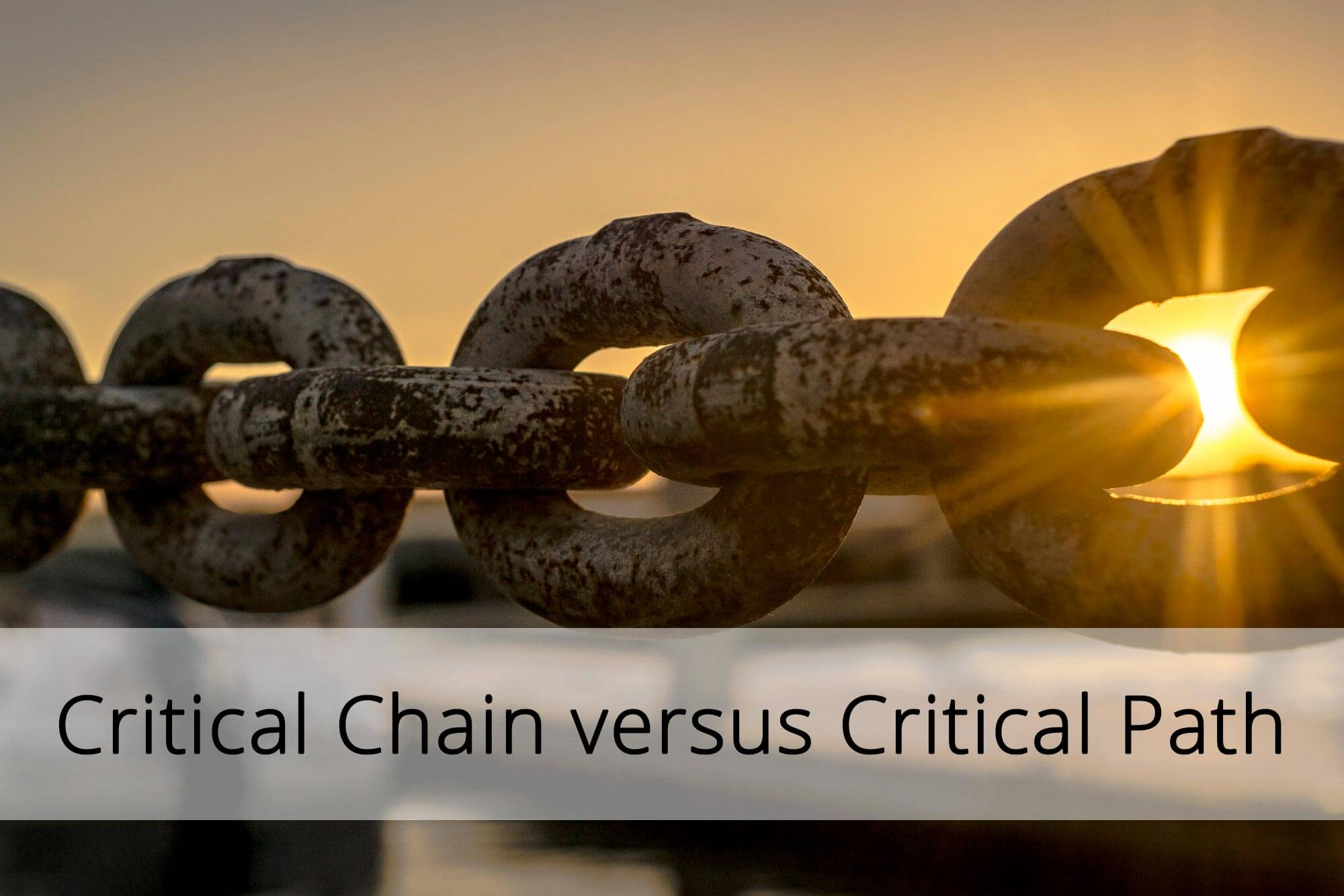 Blog post: What is the difference between the critical chain and the critical path method in project management?