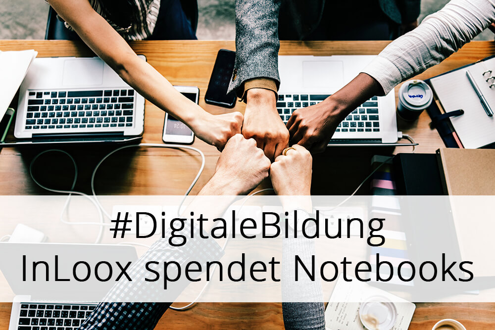 Digitale Bildung: InLoox spendet Notebooks