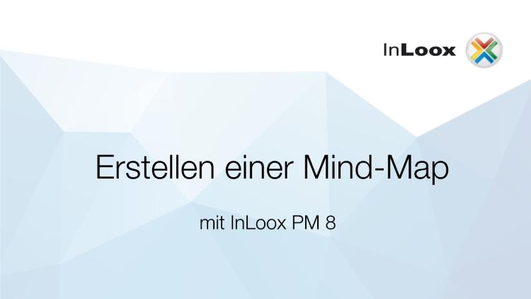 Erstellen einer Mind-Map mit InLoox PM 8