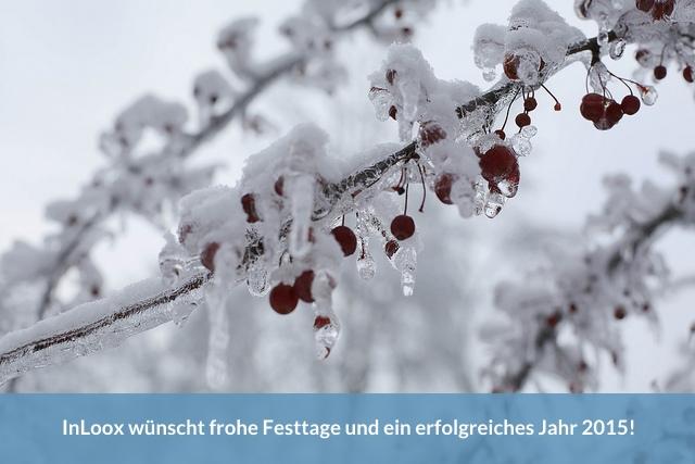 Frohe Feiertage 2014!