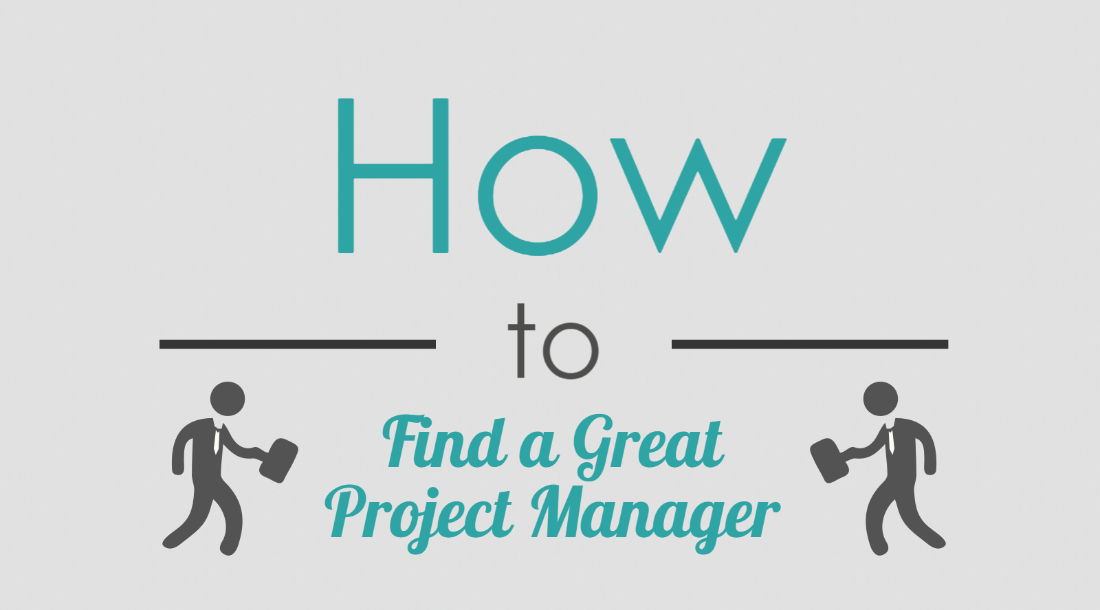 Infographic Summary for Recruiters in Search of a Project Manager