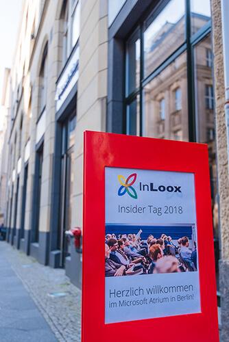 InLoox Insider Tag 2018 in Berlin: Microsoft Atrium Unter den Linden