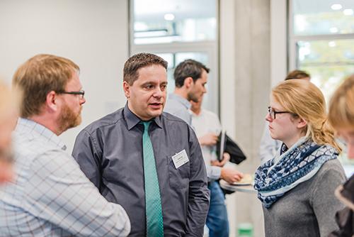 InLoox Insider Tag 2018 in München: Herr Raic und Herr Schwab von Mayer & Cie.