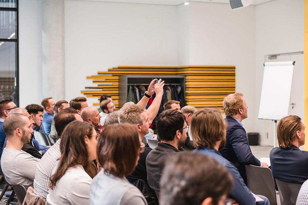 InLoox Tech Night & InLoox Insider Tag 2019 in München (Foto: ©InLoox GmbH; Fotografin: Mica Zeitz / Jung und Wild design)