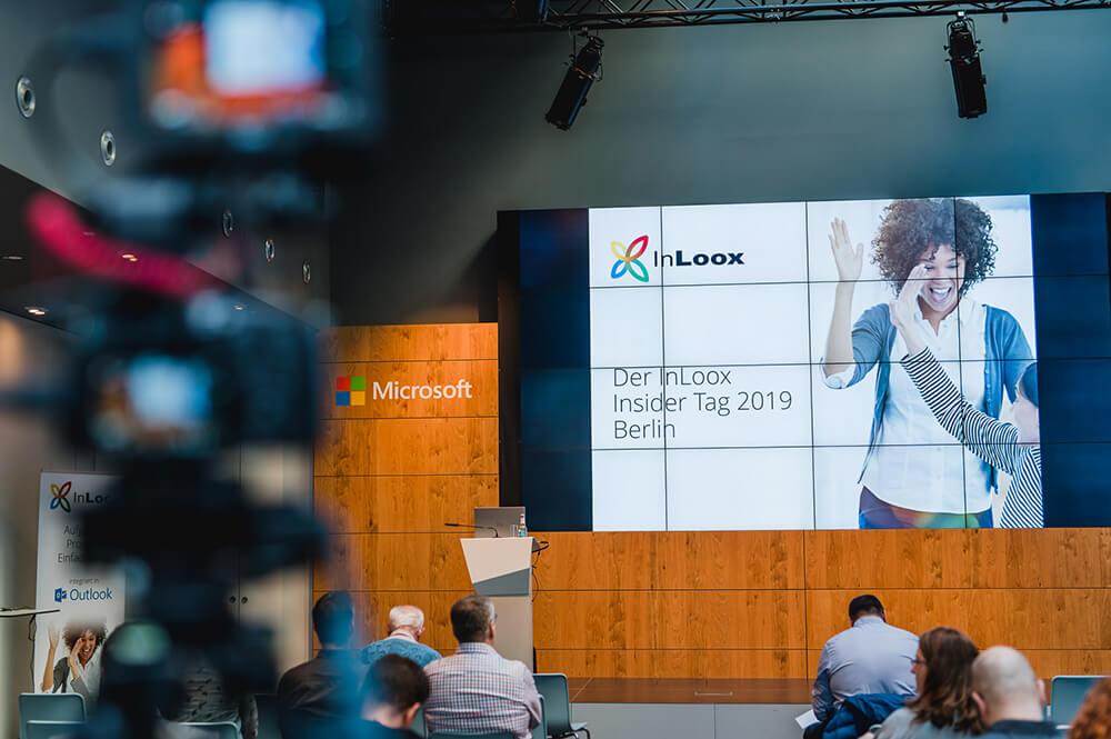 Der InLoox Insider Tag 2019 in Berlin (Foto: ©InLoox GmbH; Fotografin: Mica Zeitz)