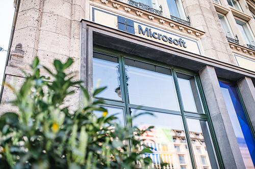 Microsoft Atrium (Foto: ©InLoox GmbH; Fotografin: Mica Zeitz)