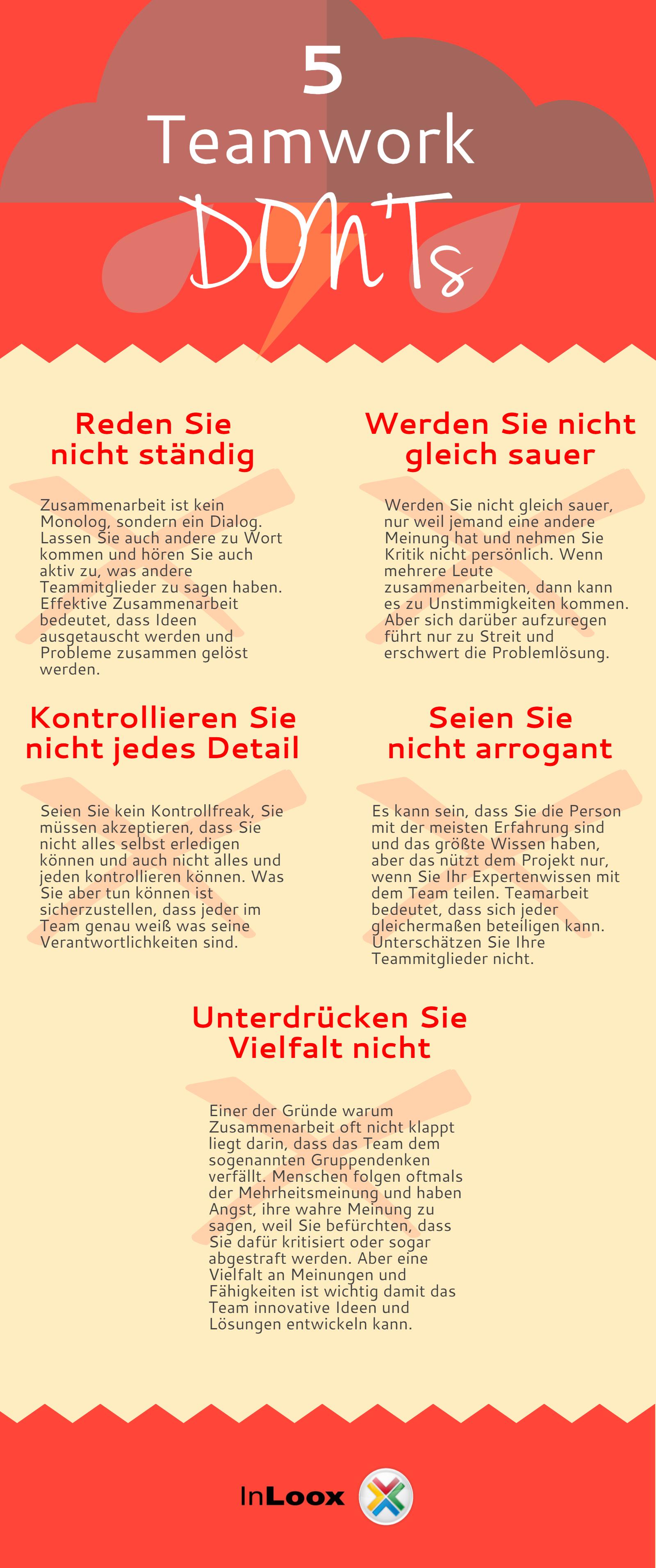 Infografik: Teamarbeit