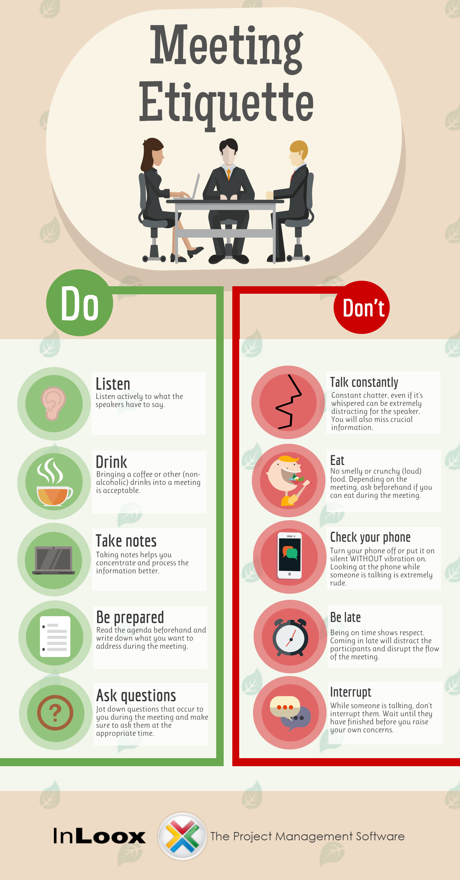 INFOGRAPHIC: Meeting Etiquette Rules to Live By