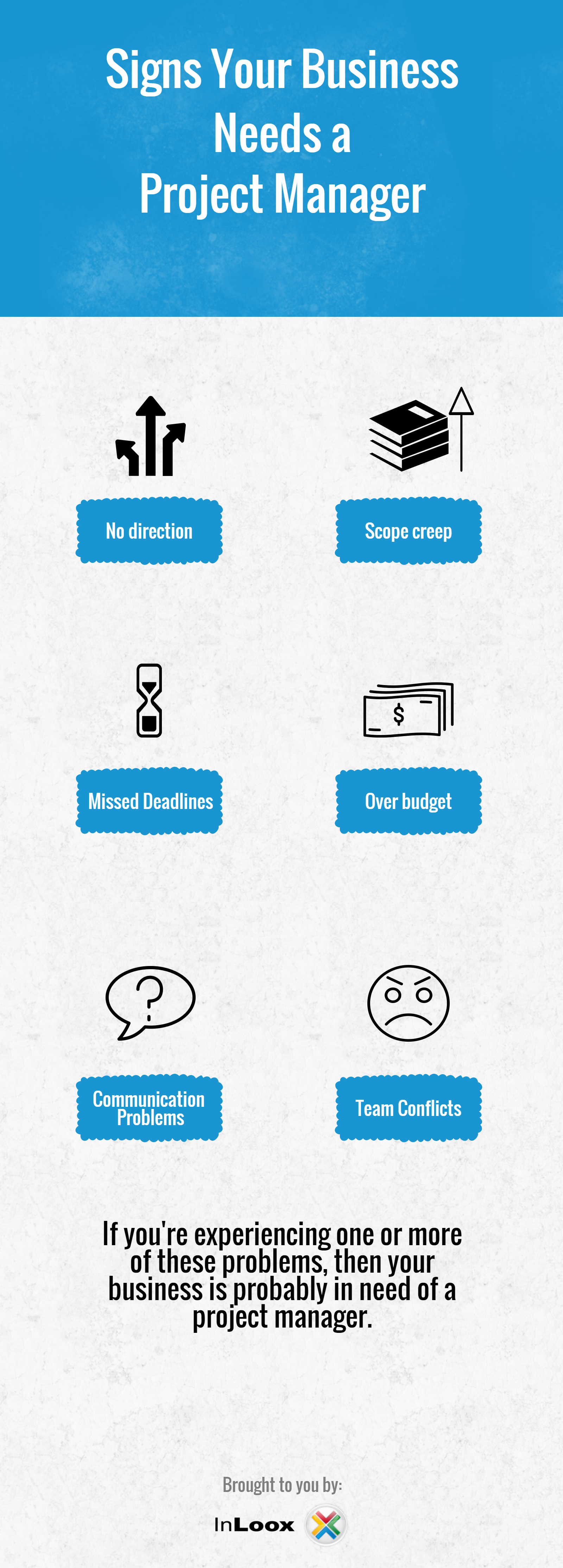 [Infographic] Signs your business needs a Project Manager