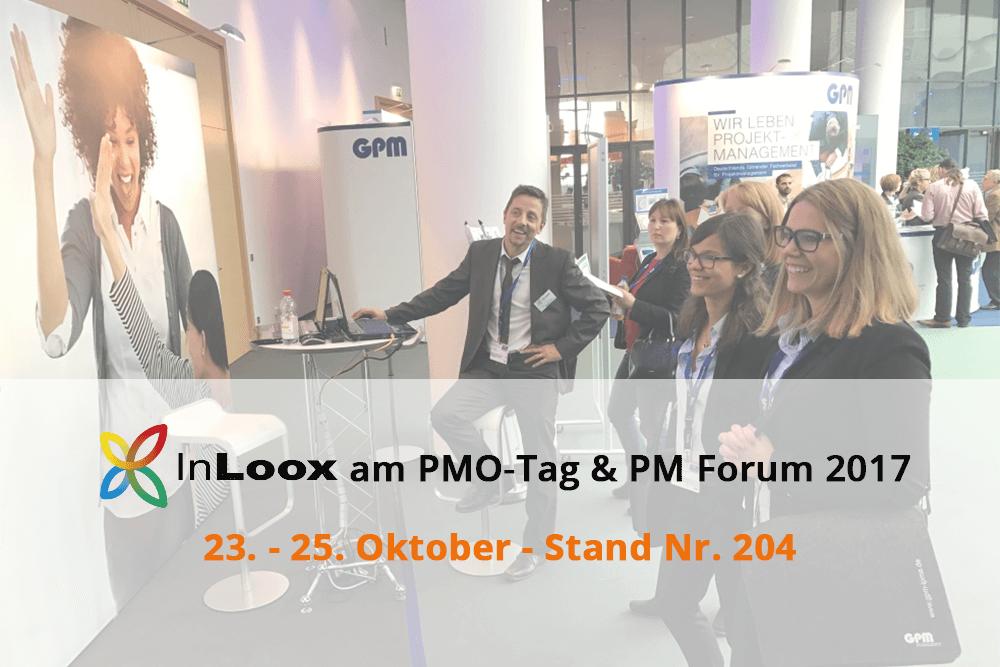 InLoox am PMO-Tag und PM Forum 2017