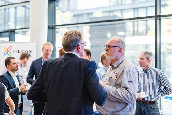 InLoox Insider Tag 2017: Die Teilnehmer beim Networking