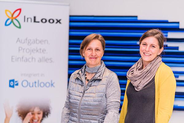 InLoox Insider Tag 2017: Kundenvortrag von Frau Gasser und Frau Schweitzer von der ZfP Südwürttemberg