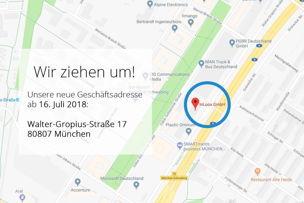 InLoox GmbH bezieht neue Büroräumlichkeiten in der Parkstadt Schwabing, München. Die neue Hauptzentrale befindet sich nun in der Walter-Gropius-Straße 17, 80807 München.