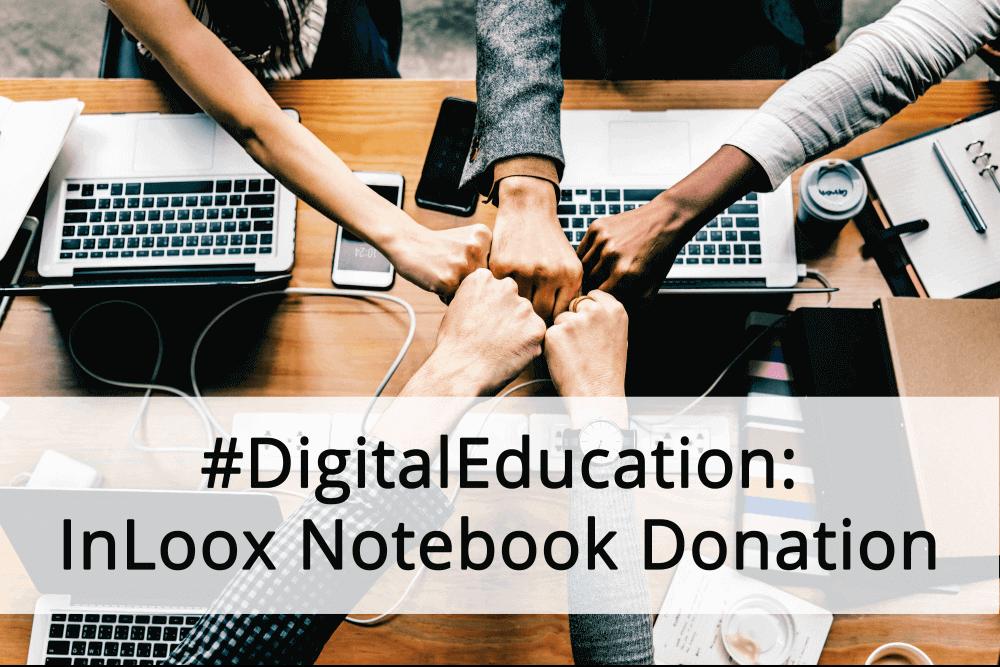 Notebook Donation Header