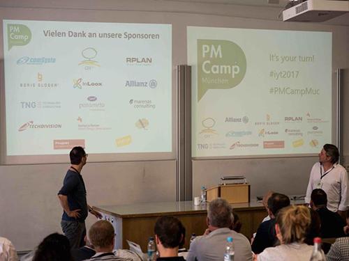 PM Camp München 2017 - Die Sponsoren