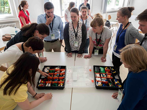 PM Camp München 2017 - Session Lego Serious Play (LSP)