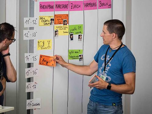 PM Camp München 2017 - Sessionplanung Tag 1
