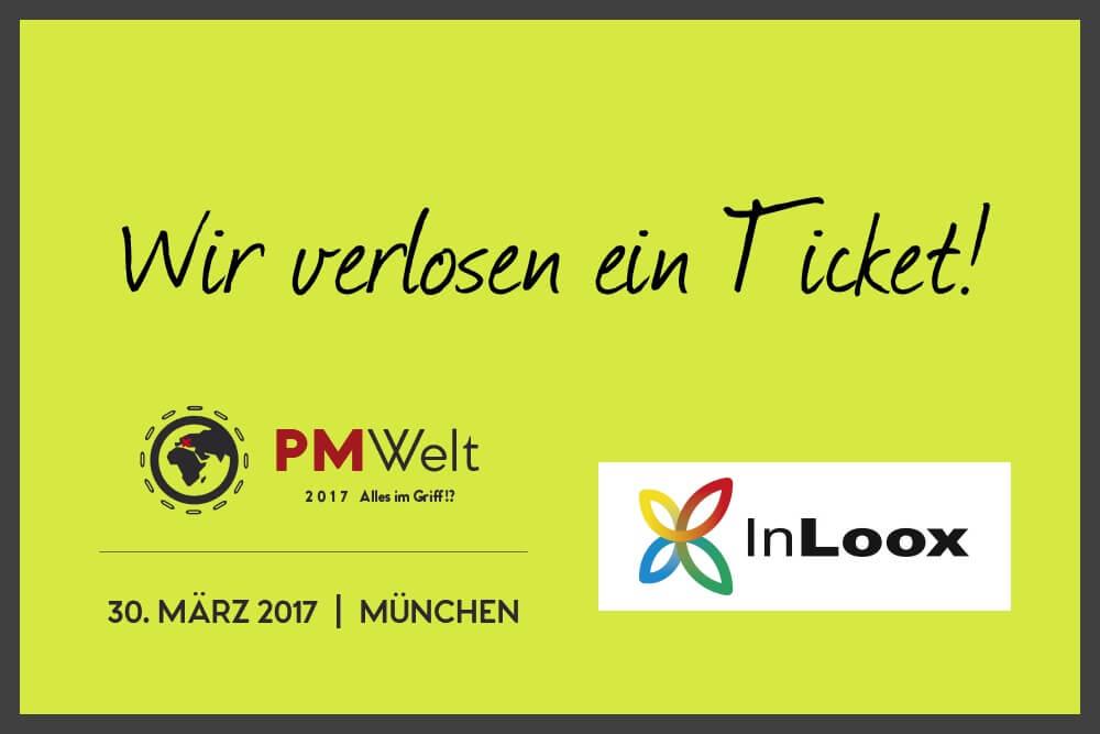 PM Welt 2017 in München: InLoox verlost ein Ticket!