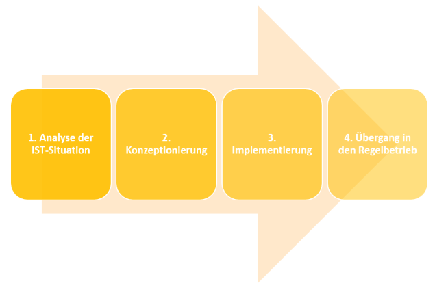 Vorgehensweise zur Einführung eines PMO