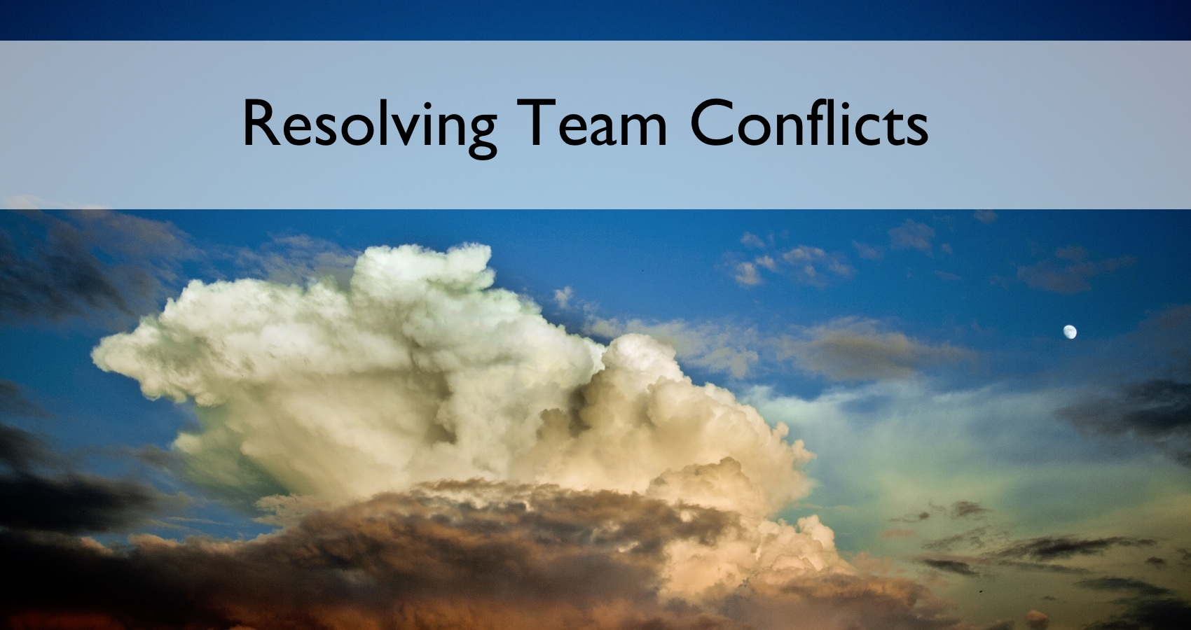 How Project Leaders Can Resolve Conflicts