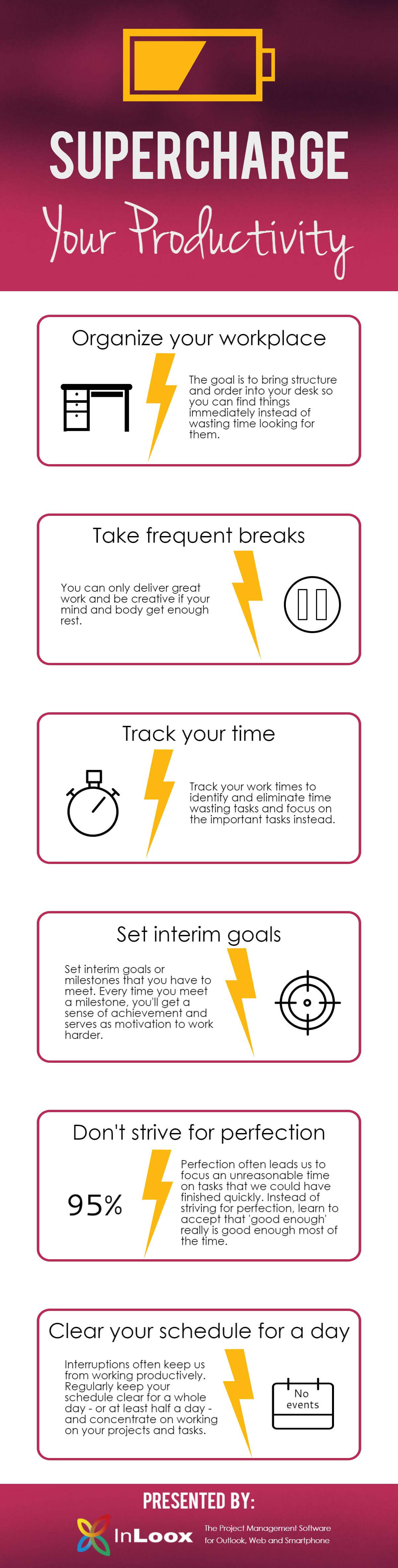 INFOGRAPHIC Supercharge Your Productivity: Kick Off the New Year with a Productivity Boost