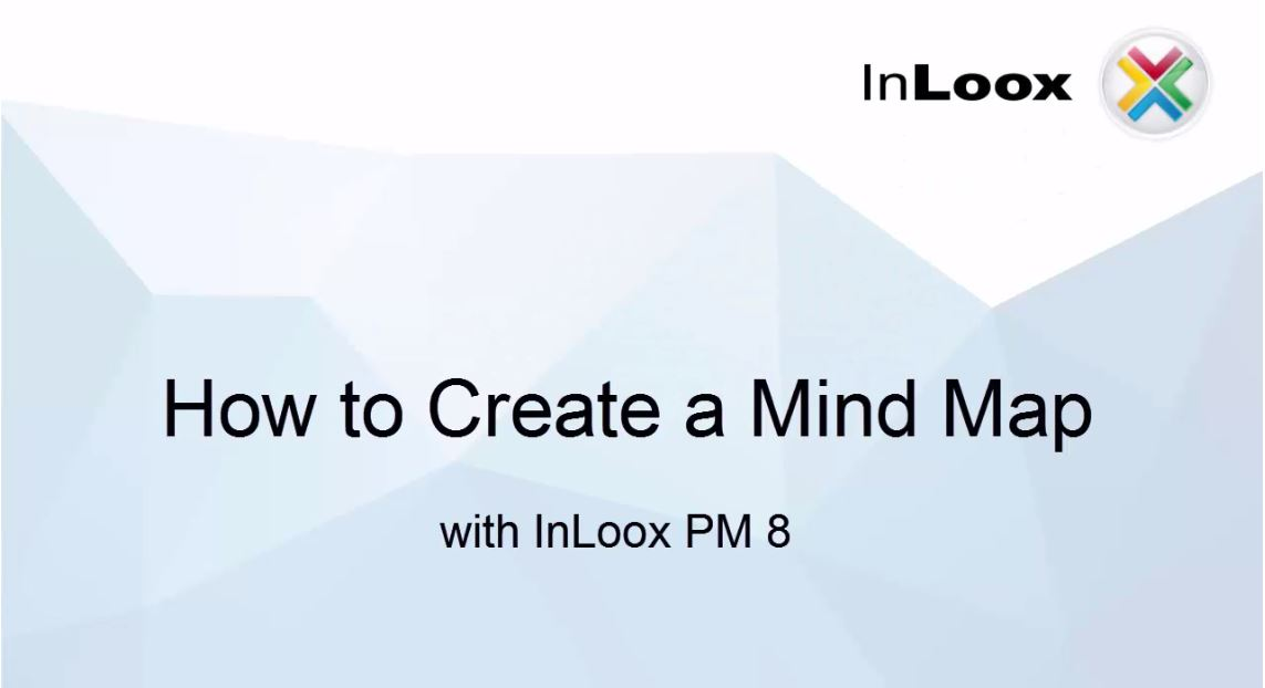 How to Create a Mind Map with InLoox PM 8