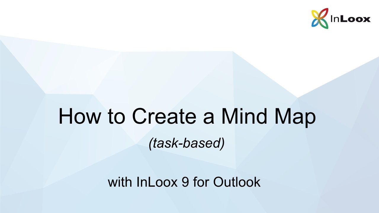 How to Create a Task-based Mind Map with InLoox 9 for Outlook