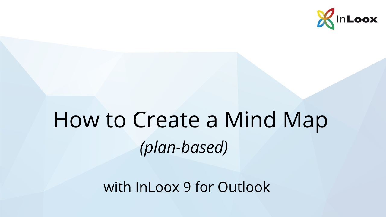 Video Tutorial: How to Create a Plan-based Mind Map with InLoox 9 for Outlook