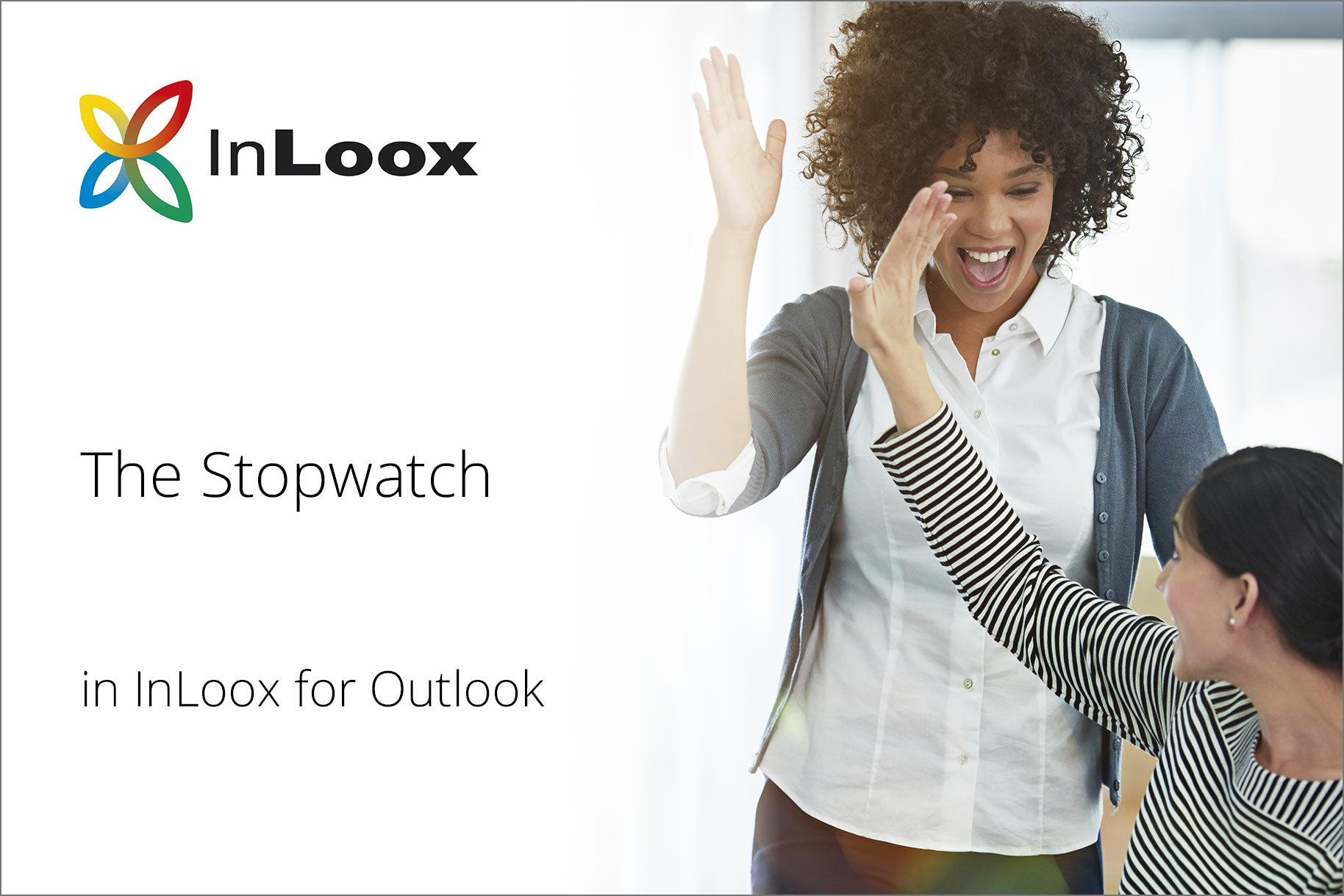 In the video tutorial you will learn how time management works with the InLoox stopwatch.