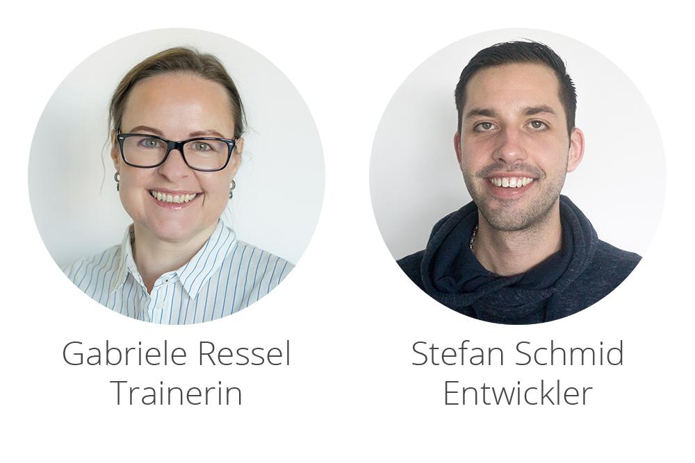 Willkommen im InLoox Team: Gariele Ressel und Stefan Schmid